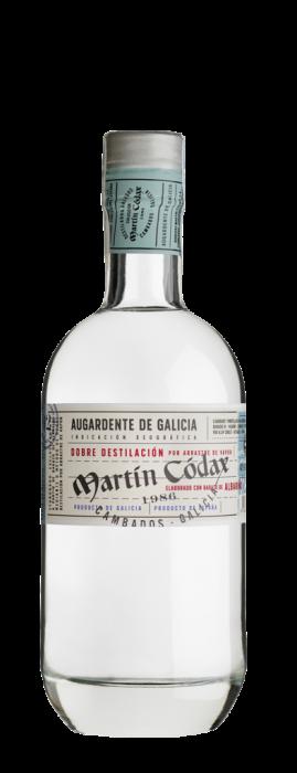 Orujo blanco aguardiente martin codax