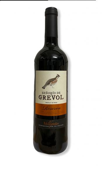 Rotwein Senorio de Grevol Reserva tinto