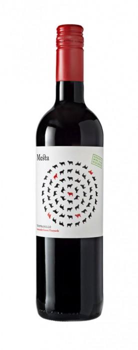 spanischer Rotwein Mesta Tinto tempranillo