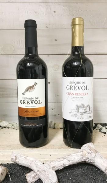 Rotwein Senorio de Grevol Paket