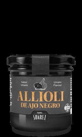 Alioli de ajo negro - schwarzer Knoblach