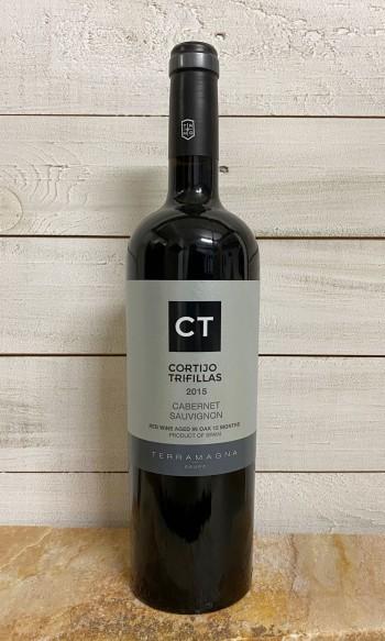 Rotwein Cortijo Trifillas Cabernet Sauvignon Crianza Tinto