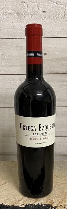 Ortega Ezquerro Reserva tinto