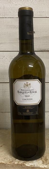 Marques de Riscal Limousin Barrica blanco